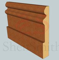Richmond Oak Skirting Board - 3m Lengths