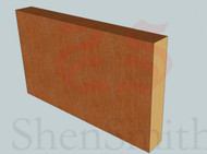 Square-Edge Oak Skirting Board - 3m Lengths