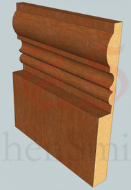 Wessex Oak Skirting Board - 3m Lengths