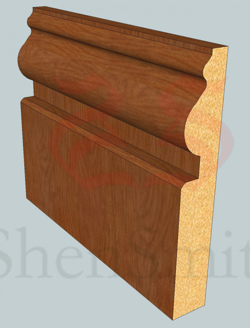 Worcester Oak Skirting Board - 3m Lengths