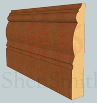 2305 Oak Skirting Board - 2.4m Lengths