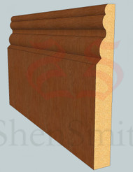 Buckingham Oak Skirting Board - 2.4m Lengths