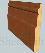 Chelsea Oak Skirting Board - 2.4m Lengths