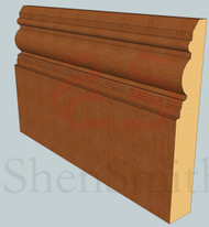 Devon Oak Skirting Board - 2.4m Lengths