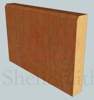 Edge-2 Oak Skirting Board - 2.4m Lengths