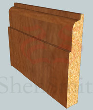 Lambs-Tongue Oak Skirting Board - 2.4m Lengths