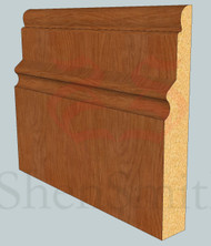 Warwick Oak Skirting Board - 2.4m Lengths