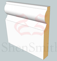 Torus MDF Skirting Board - 3m lengths