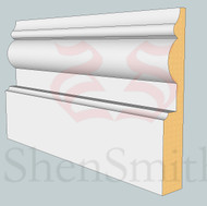 1914 MDF Skirting Board - 3m Lengths
