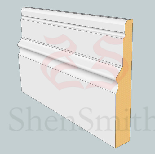 2616 MDF Skirting Board - 3m Lengths