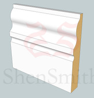 327 MDF Skirting Board - 3m Lengths