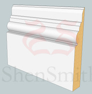 Antique MDF Skirting Board - 3m Lengths
