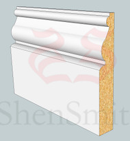 Ayelsbury MDF Skirting Board - 3m Lengths