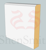 Edge MDF Skirting Board - 3m Lengths