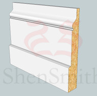 Hazel MDF Skirting Board - 3m Lengths