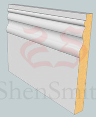 Kensington MDF Skirting Board - 3m Lengths
