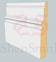 Warwick MDF Skirting Board - 3m Lengths