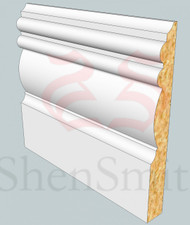 Winchester MDF Skirting Board - 3m Lengths