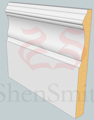 Windsor MDF Skirting Board - 3m Lengths