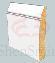 1898 MDF Skirting Board - 3m Lengths