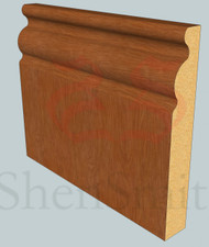 Regency Oak Veneered Skirting Board - 4.4m Lengths