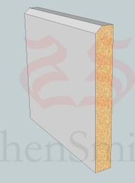 SP03 Profile MDF Skirting Board - 5.4m Lengths