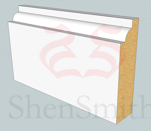 SP05 Profile MDF Skirting Board - 5.4m Lengths