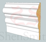 SP07 Profile MDF Skirting Board - 5.4m Lengths