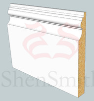 SP22 Profile MDF Skirting Board - 5.4m Lengths