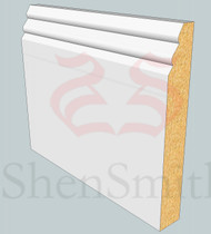 SP24 Profile MDF Skirting Board - 5.4m Lengths