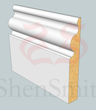 SP30 Profile MDF Skirting Board - 5.4m Lengths