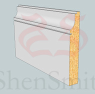 SP37 Profile MDF Skirting Board - 5.4m Lengths