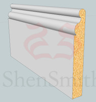 SP40 Profile MDF Skirting Board - 5.4m Lengths