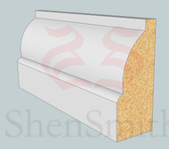 SP64 Profile MDF Skirting Board - 5.4m Lengths