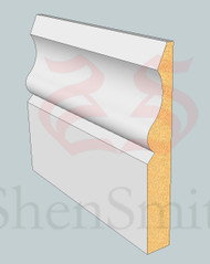 SP70 Profile MDF Skirting Board - 5.4m Lengths