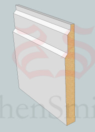 SP79 Profile MDF Skirting Board - 5.4m Lengths