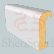 SP91 Profile MDF Skirting Board - 5.4m Lengths