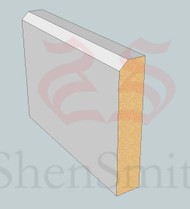 SP92 Profile MDF Skirting Board - 5.4m Lengths