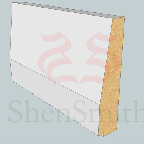 SP96 Profile MDF Skirting Board - 5.4m Lengths