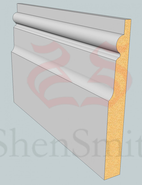 Chelsea MDF Architrave - 2.4m Lengths