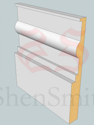 Classic MDF Architrave - 2.4m Lengths