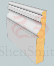 Ogee-2 MDF Architrave - 2.4m Lengths
