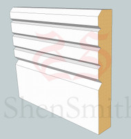 V-Groove MDF Architrave - 2.4m Lengths