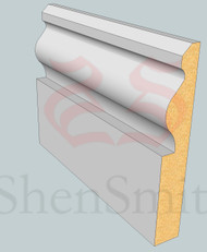 Wales MDF Architrave - 2.4m Lengths