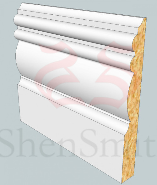Winchester MDF Architrave - 2.4m Lengths
