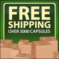 Free Shipping Over 5000 Empty Gelatin Capsules