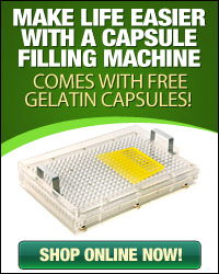 Capsule Filing Machine