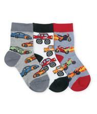 Speedy Triple Treat Boys Low Cut Socks