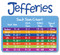 Jefferies Socks Australia - Size Chart