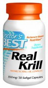 Doctor's Best Real Krill 350mg 30 Softgels